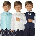 Boys Waistcoat Suits, Page Boy Suits, Wedding Suits, Boys Suits, Navy Trousers