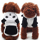 Внешний вид - Puppy Sweater Pet Dog Hoodie Jumpsuit Outwear Coat  Warm Velvet Winter Clothes