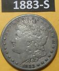 1883-S MORGAN DOLLAR US 90% Silver COIN VERY FINE CONDITION BUT A BIT GRUBBY