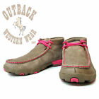 Twisted X Women's Breast Cancer Awareness Driving Moc WDM0012