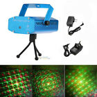 Mini R&G DJ Disco Laser Stage Light Xmas Party Show LED Super Projector Lamp