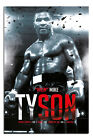 Iron Mike Tyson Boxing Record Poster New - Maxi Size 36 x 24 Inch
