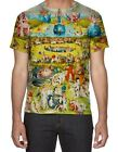 Hieronymus Bosch Garden of Earthly Delights All Over Print 3D Men's T-Shirt