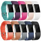 Replacement Silicone Band Rubber Strap Wristband Bracelet For Fitbit CHARGE 2 image