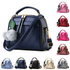 Womens Handbag PU Leather Shoulder Party New Bag College Satchel Tote Purse Bags
