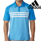 Adidas Golf Mens 3-Stripes Competition Climacool Ventilation Polo Shirt