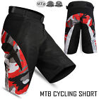 MTB Cycling Short Off Road Downhill Camo Design Horse Riding, Mountain - Unisex