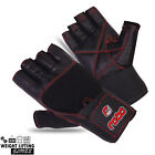 Weight Lifting Cowhide Leather Gloves Training Body Building Gym Fitness Gloves