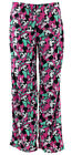 NEW Minnie Mouse Pink Micro-Fleece Pajama Pants for Juniors Disney Brand
