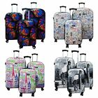 Kemyer World Series 3-Piece Hardside Expandable Spinner Luggage Set