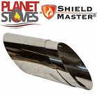 Stainless Steel Shieldmaster 45 Degree Wall Sleeve Twin Wall Insulated Flue Pipe