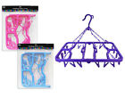 Folding Clothes Airer Sock Dryer Indoor Clothes Dryer With 24 Pegs
