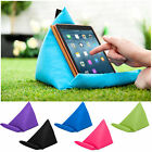 Tablet Book Rest Cushion Bean Bag Pillow Stand iPad Kindle Seat Outdoor Garden
