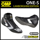 NEW! IC/807 OMP LAMBORGHINI ONE-S RACING BOOTS - LIGHTWEIGHT ULTRA SOFT LEATHER
