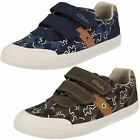 Clarks Boys Canvas Pumps 'Comic Zone Inf'