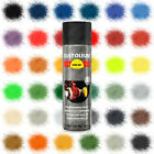 Rust-Oleum Hard Hat Aerosol Spray Paint Satin Gloss Matt 500ml Red Black White