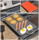 Nonstick Double Burners Griddle Breakfast Stove Top Cooker Kitchen Meals
