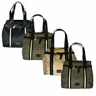 Tommy Hilfiger Purse Womens North South Shoulderbag Tote Jacquard Classic Th New