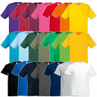 FRUIT OF THE LOOM T-SHIRT 10er Original T Herren 21 Farben S-XXL 61082