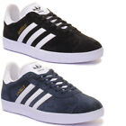 Adidas Gazelle Womens Suede Leather Trainers 3-6.5