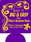 New Orleans bachelor party koozies 12910697 lot of 6 to 20 Custom