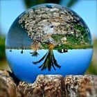 Glass Sphere Crystal Paper Weight Half & Full Sphere Quartz Ball Magnifying