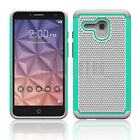 Armor Rubber Hybrid Case Cover For Alcatel One Touch Flint/Fierce XL/Pixi Glory