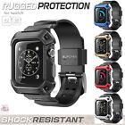 Apple Watch Band Strap Sport Edition iWatch Silicone Ruged Protective Case Apple