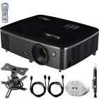 Optoma HD142X Full HD 1080p 3D DLP Home Theater Projector Hardware Bundle