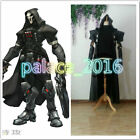 Overwatch Reaper Cosplay Fancy Dress Halloween cloak coat