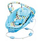 BOUNCER NEWBORN MUSIC VIBRATION SOOTHING AND ROD GAMES INCLUDED