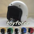 Casco capacetes glass fiber 3/4 open face vintage retro helmet  motorcycle