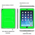 Shock Proof Full Protective Hard Back Case with Screen Protector  for Apple iPad