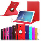 "360 Rotating Smart Leather Case Cover For Samsung Galaxy Tab E 9.6"" SM-T560 T561"