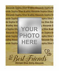 Personalized Best Friends Engraved Wood Picture Photo Frame Friendship Day Gifts - Best Reviews Guide