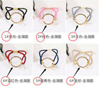 Fashion Women girl crystal alloy hair circle rope rubber band Ponytail Holder
