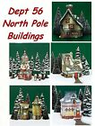 Dept 56 North Pole - Buildings - Not Sold As A Set - Your Choice - New In Box