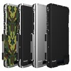For Samsung Galaxy S9 S8 Plus S7 Armor King Shockproof Aluminum Flip Case Cover