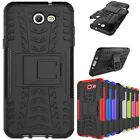 Rugged Silicone Stand Hybrid PC+TPU Back Case Cover For Samsung J720 J5/J7 Prime