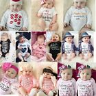 lovely and cute baby - Cute Newborn Infant Baby Boy Girls Romper Jumpsuit Bodysuit Clothes Outfits Lot