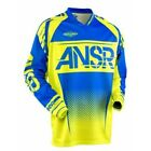 ANSR 17.5 Syncron MX/Motorcross Adult Jersey - Acid/Blue - New Product!!