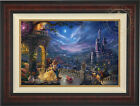 Thomas Kinkade Studios Beauty and the Beast Dancing 18 x 27 LE S N Canvas