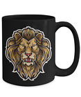 Lion King Of The Jungle Big Cat Wildlife Coffee Mug