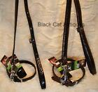 SUPER DEAL!!! FAUX LEATHER LEASH COLLAR COMBINATION SET - BRAND NEW!!!