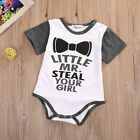 Newborn Kids Infant Baby Girls Boys Romper Bodysuit Jumpsuit Clothes Outfit US