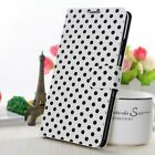 Phone Case Protective Sleeve Wallet Dots Flip Case Book Style Smartphone Top