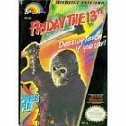 Friday the 13th Nintendo NES Game Cartridge Only