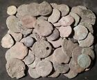 Nice Quality Lot of 10 Smaller Uncleaned Roman Bronze Coins Mostly AE3