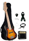 """30"""" Kids Child Electric Guitar Package + Amp, Gig Bag, Strap, Cable, Picks"""