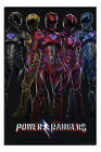 Power Rangers Movie Poster New - Maxi Size 36 x 24 Inch